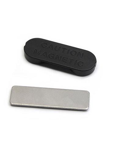 Badge magnétique en métal