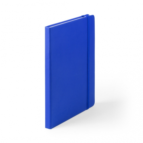 Bloc-notes Cilux en cuir PU bleu