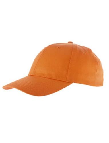 Casquette de couleur orange