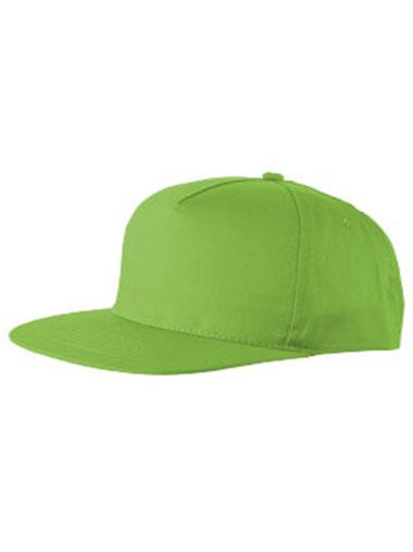 Casquette de couleur verte