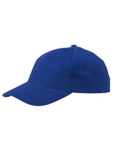 Casquette de couleur bleue