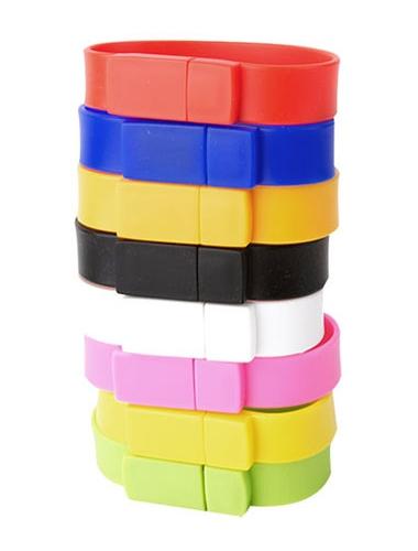 Clé USB / bracelet en silicone