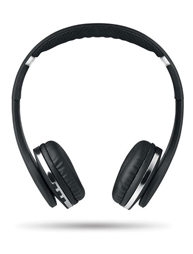 Casque audio noir et sans fil