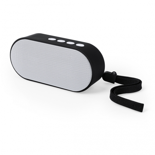 Haut-parleur sans fil de couleur blanche