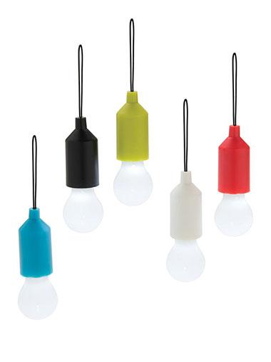 Plusieurs lampes avec de différentes couleurs