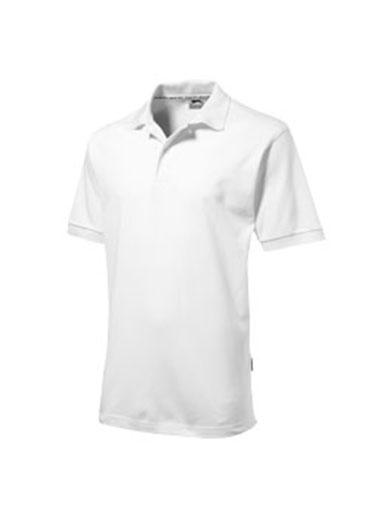 Polo de couleur blanche