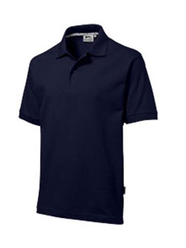 Polo de couleur bleu marine