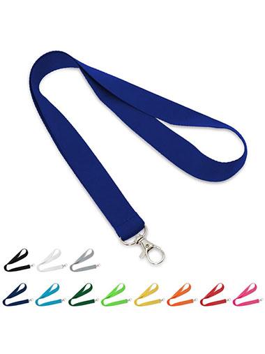 Lanyard avec un crochet métallique pour accrocher un badge