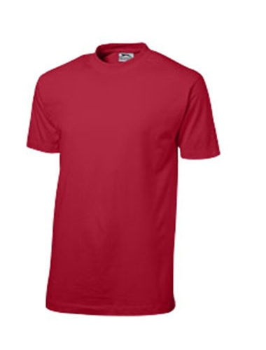 T shirt de couleur rouge