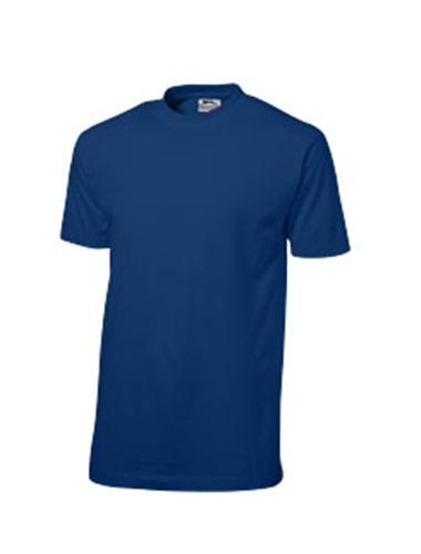 T-shirt de couleur bleu foncé