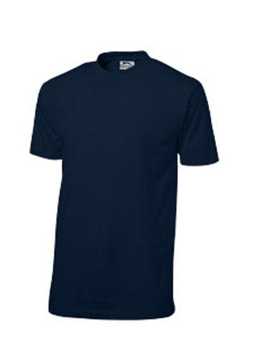 T-shirt en bleu marine